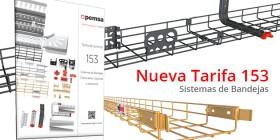 Nueva Tarifa de Sistemas de Bandejas nº 153