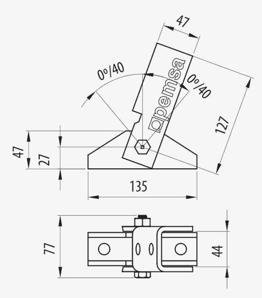 Adjustable Angle Bracket