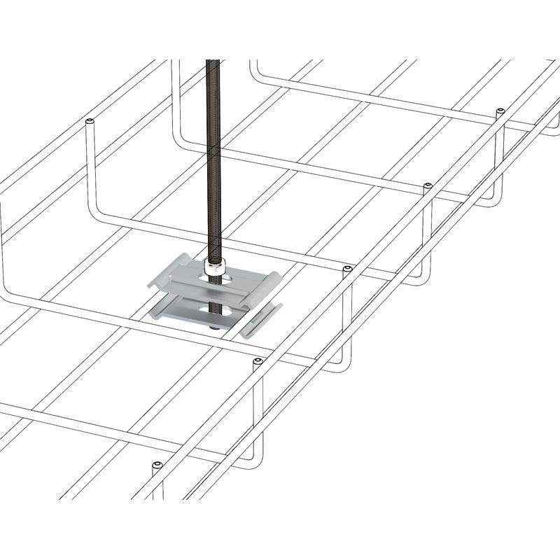 conector de varilla m8