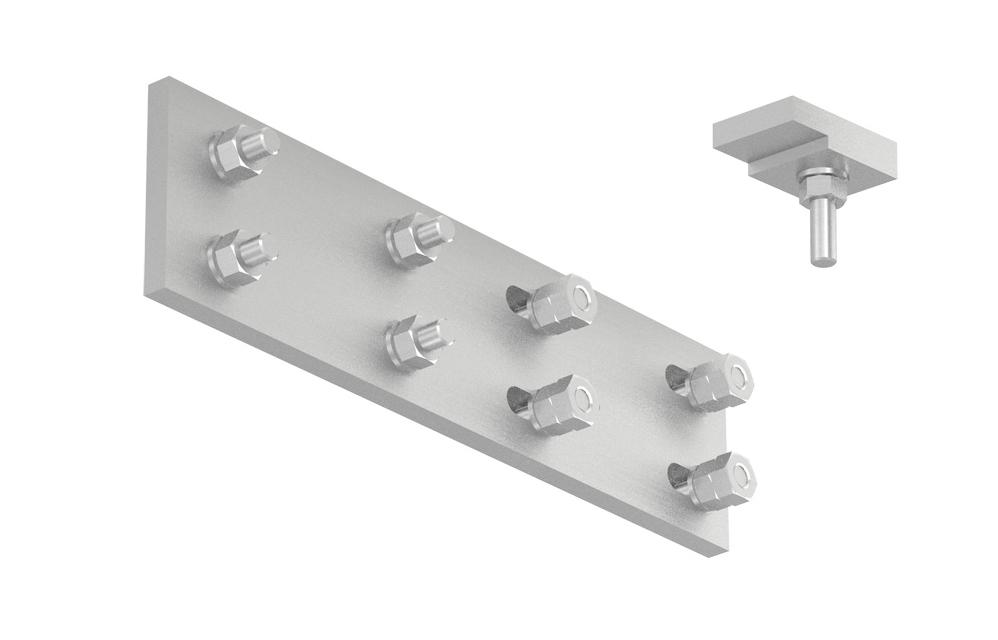 Kit Unión Recta (KUR) Megaband CPS