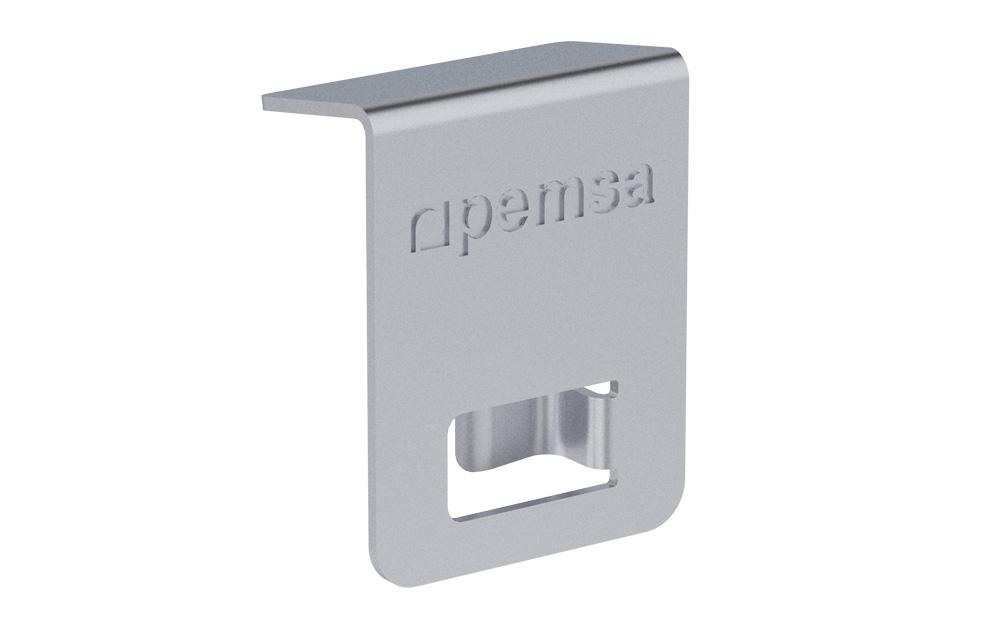 Clip Fijación Tapa Rejiband