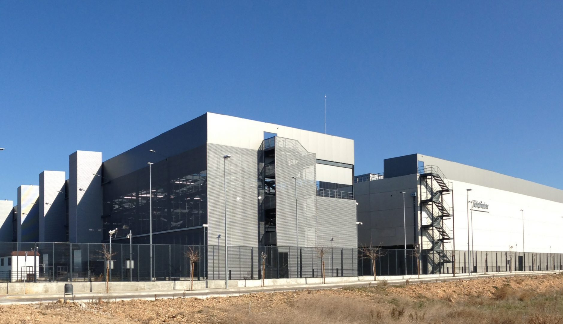 Telefonica Data Center Alcalá de Henares, Spain
