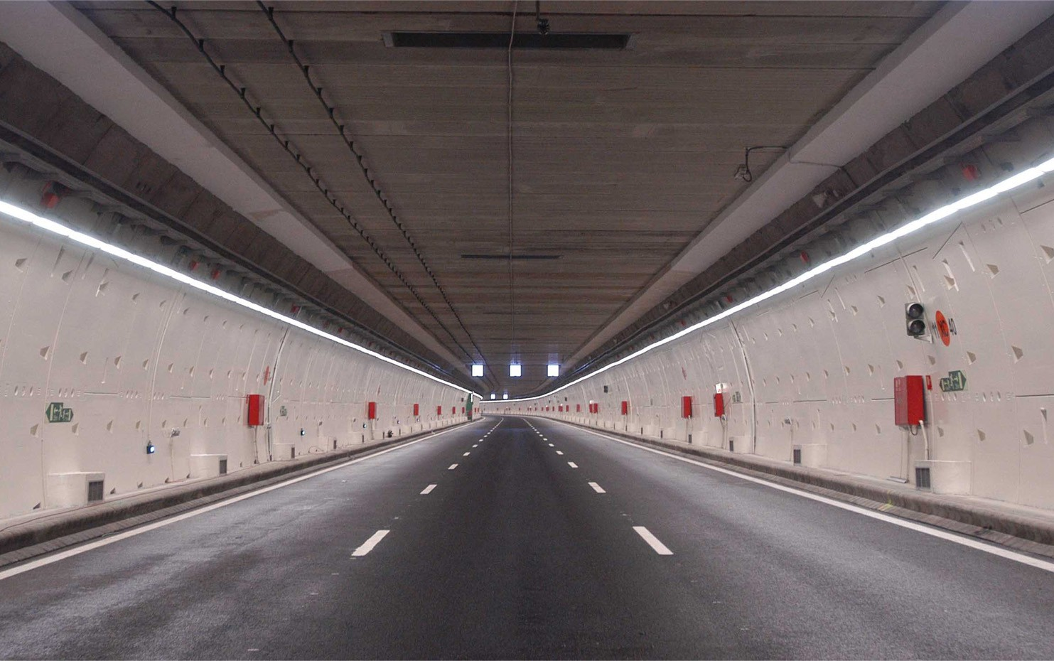M30 Street Urban Tunnels Madrid,Spain