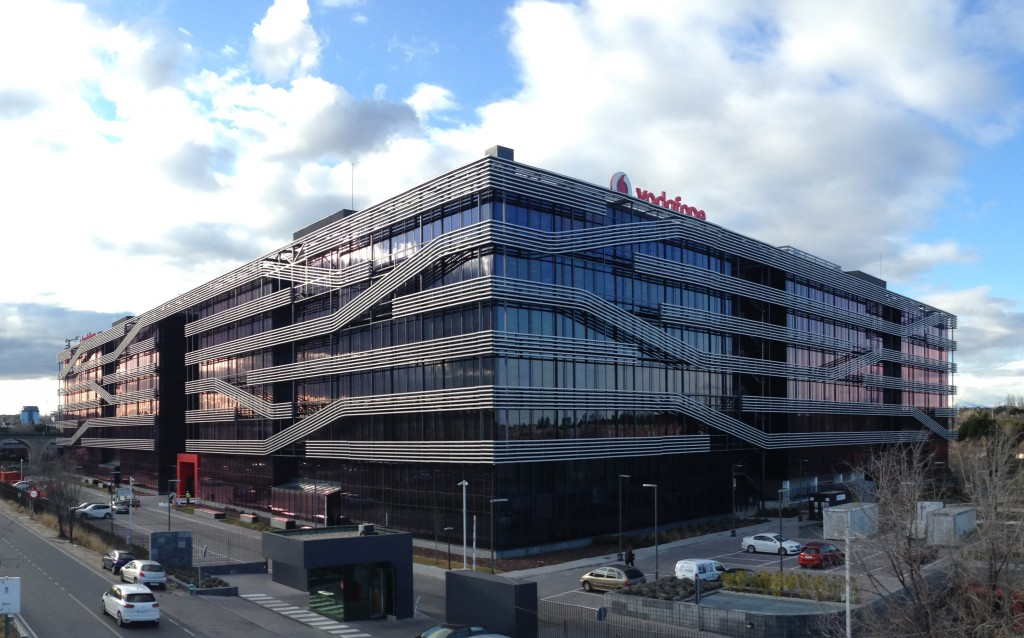 Vodafone Plaza Madrid, Spain  - Pemsa Cable Management Systems