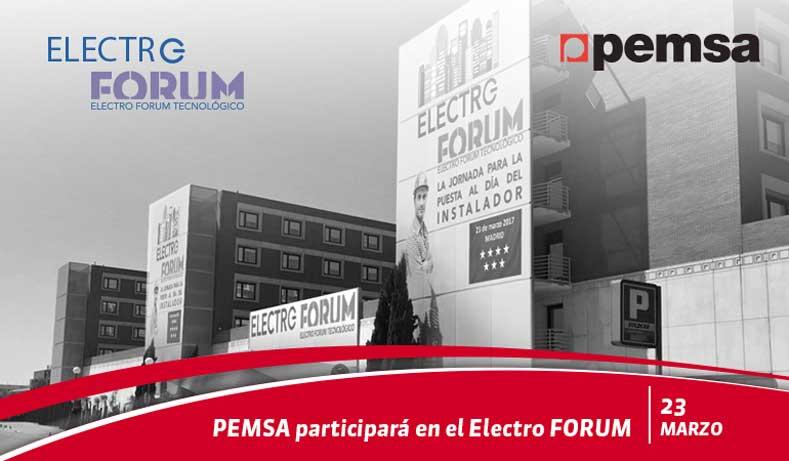 Pemsa participará en Electro FORUM