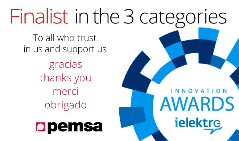 Pemsa becomes finalist in the iElektro Innovation Awards
