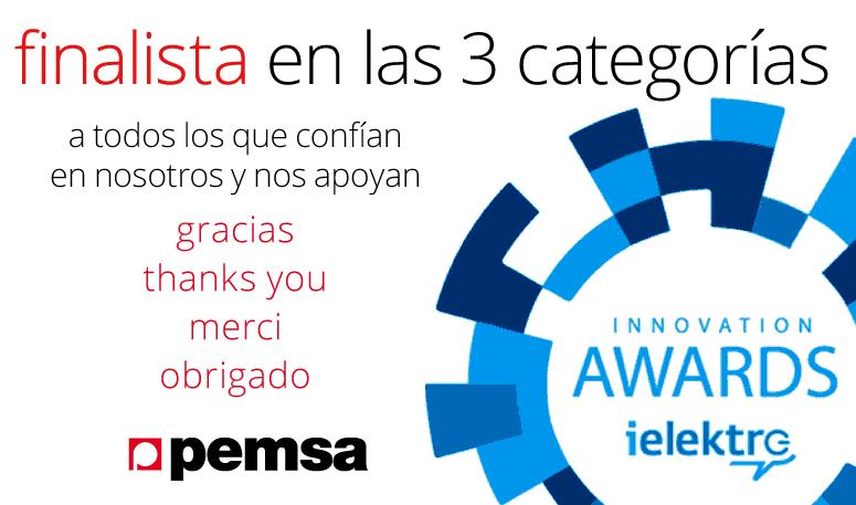 Pemsa finalista en los premios iElektro