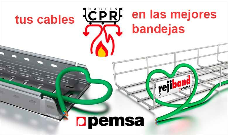 Las bandejas más adecuadas para Cables CPR