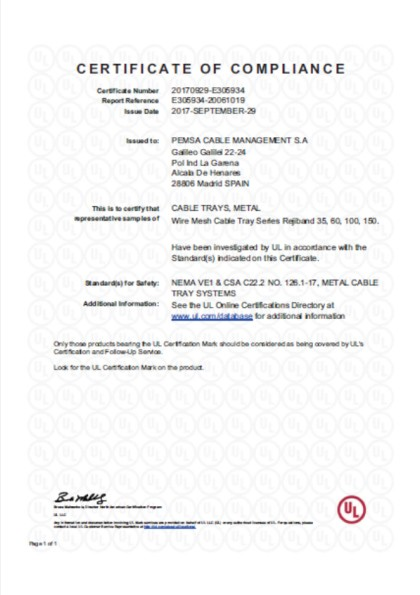 Rejiband® has renewed and extended its UL Certification - Pemsa ...
