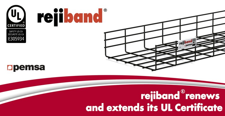 Rejiband® has renewed and extended its UL Certification