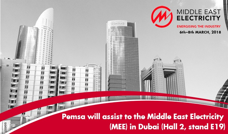 PEMSA ASSISTS TO THE MIDDLE EAST ELECTRICITY (MEE) IN DUBAI