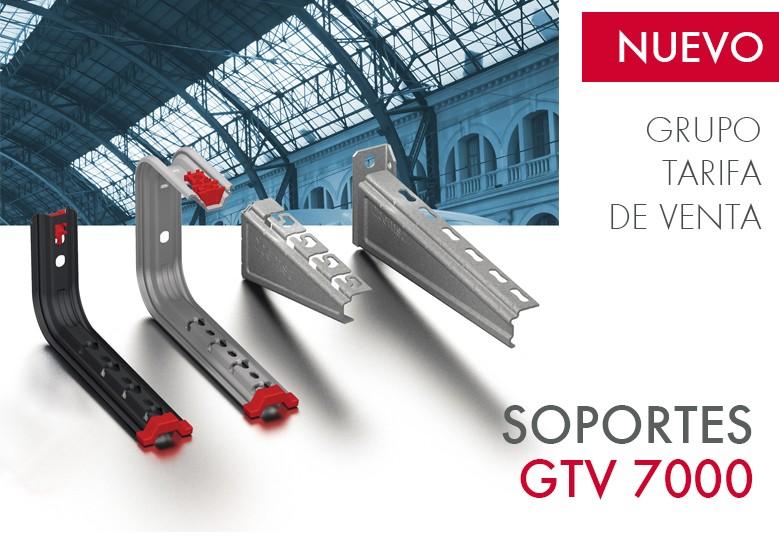Nuevo Grupo Tarifa de Venta para Soportes GTV 7000
