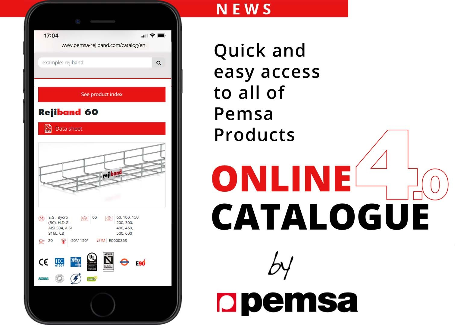 New Online Catalogue from Pemsa