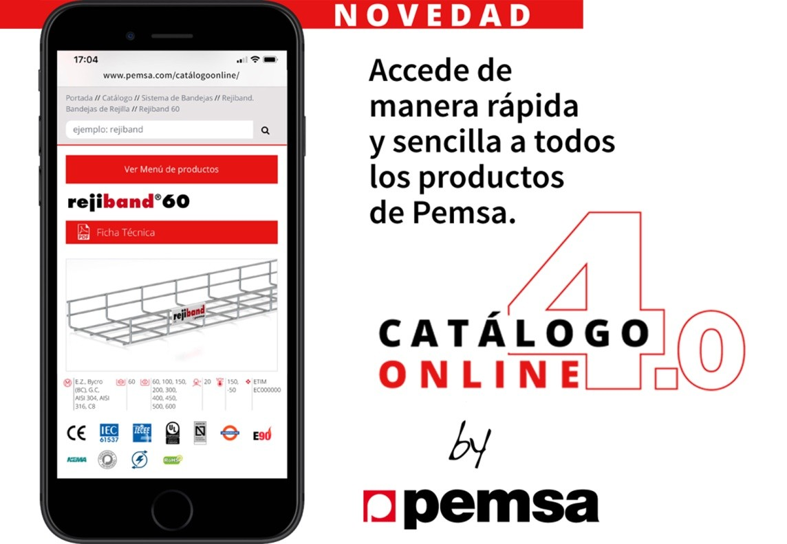 Nuevo Catálogo Online de Pemsa