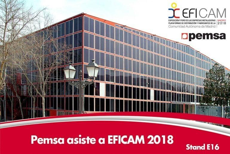 Pemsa Cable Management participará en la Feria EFICAM 2018