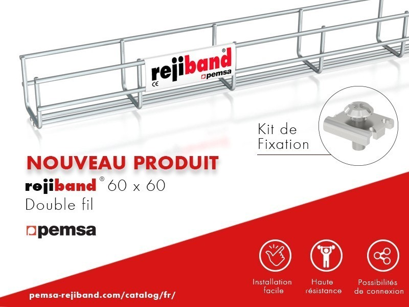 Pemsa présente Rejiband 60 x 60 Double fil