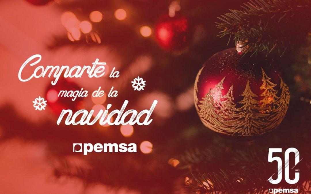 Pemsa os desea Feliz Navidad y un próspero 2019