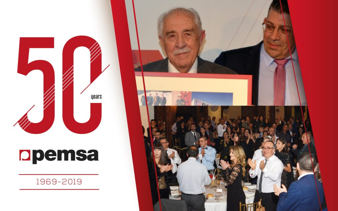 PEMSA CELEBRATES ITS 50th ANNIVERSARY WITH A GREAT CORPORATE EVENT