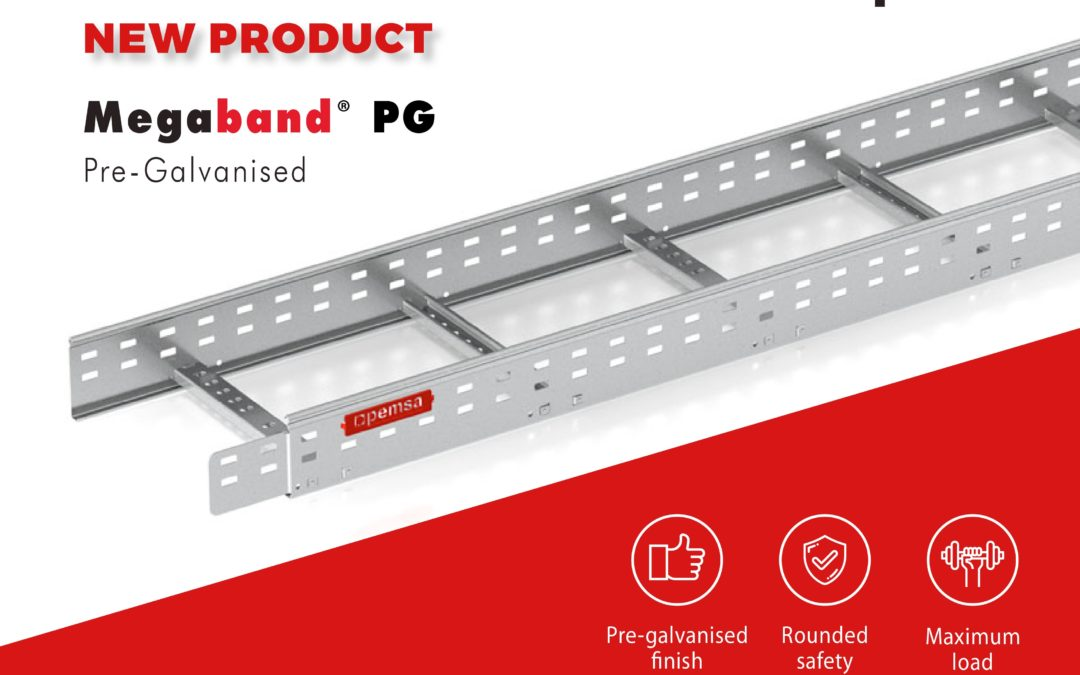 PEMSA LAUNCHES MEGABAND®PG, THE NEW LADDER IN A PRE-GALVANISED FINISH