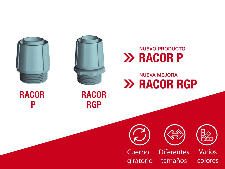 Pemsa Incorpora Novedades y Mejoras con el Racor P y el Racor RGP