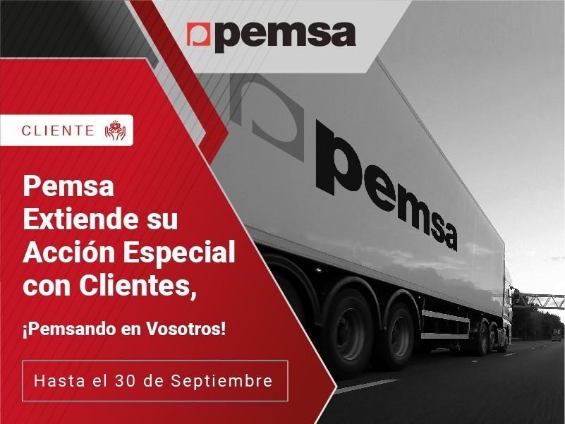 Pemsa Extiende su Acción Especial con Clientes, ¡Pemsando en Vosotros!