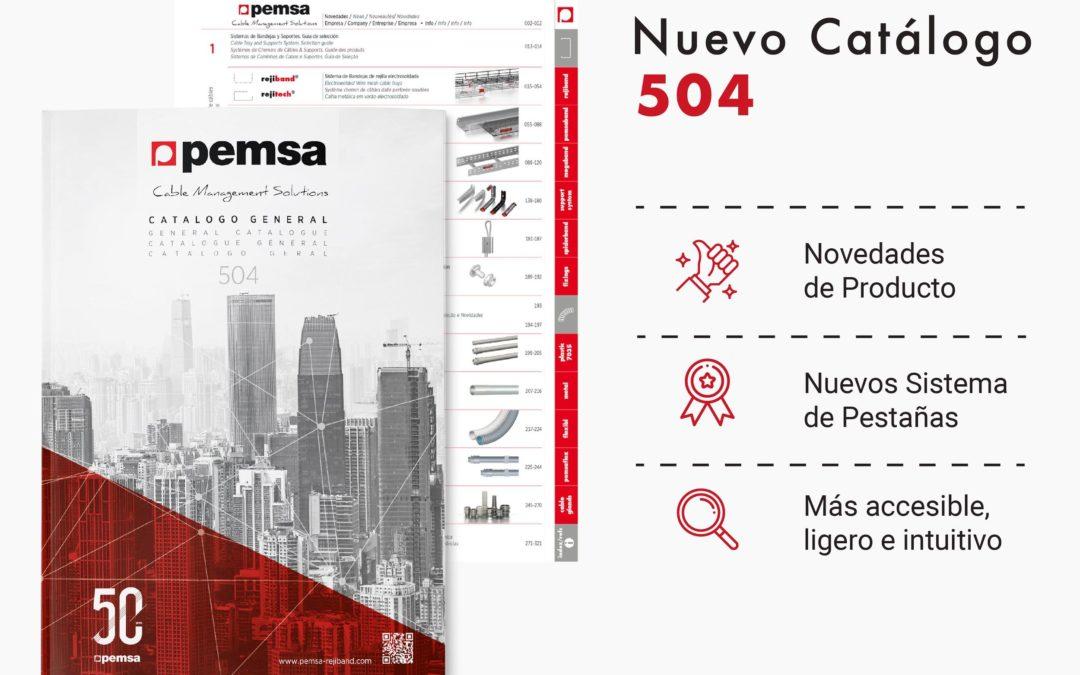 Pemsa Lanza su Nuevo Catálogo General Nº504