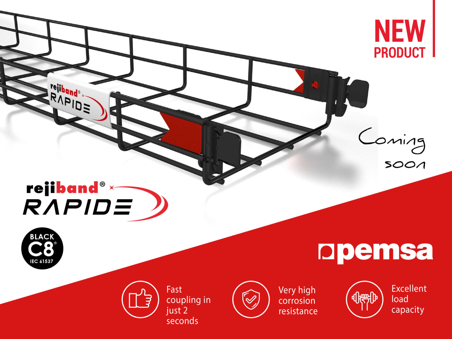 Pemsa Launches the Rejiband Rapide Black C8