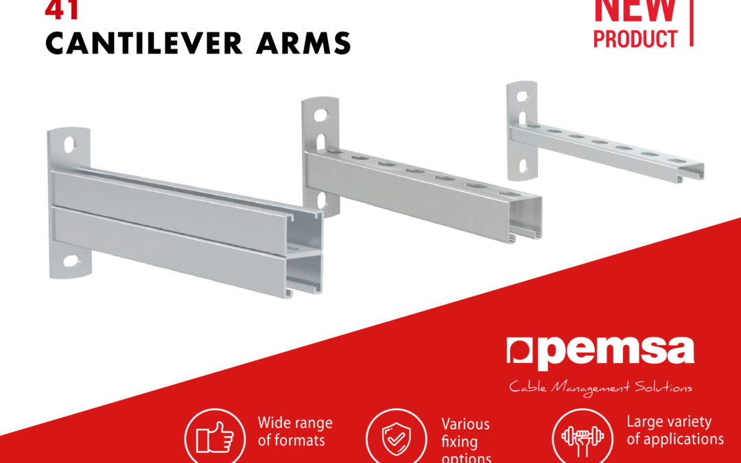 Pemsa Launches The New Range of 41 Cantilever Arms
