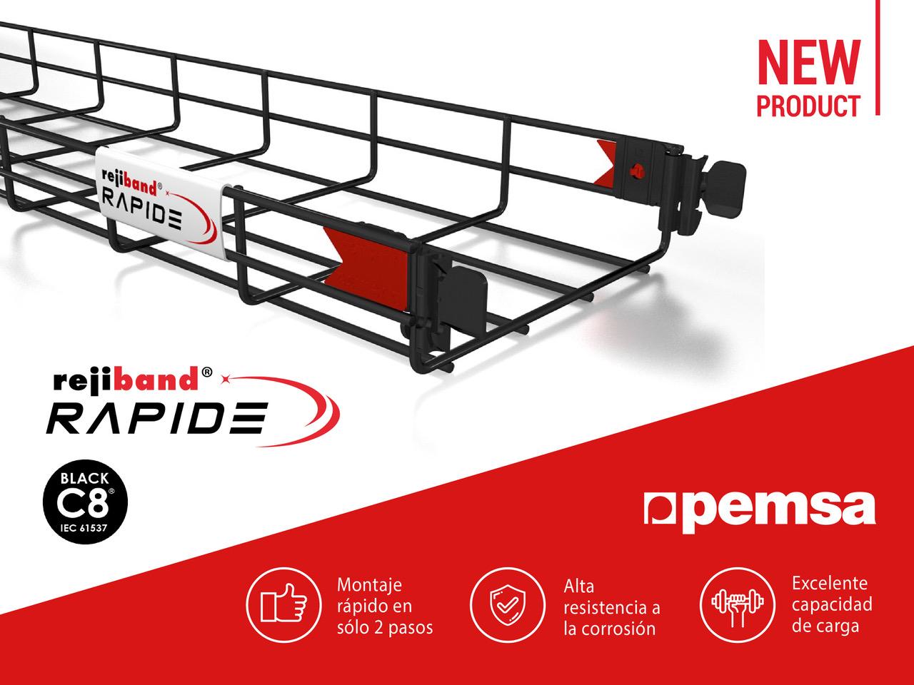 Rejiband Rapide Black C8, El Nuevo Lanzamiento de Pemsa