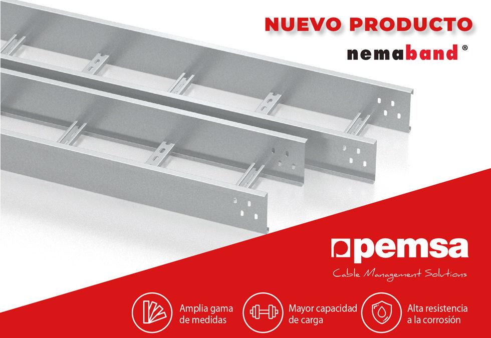 Pemsa lanza su Nueva Bandeja de Escalera Nemaband® para aplicaciones industriales y grandes vanos.