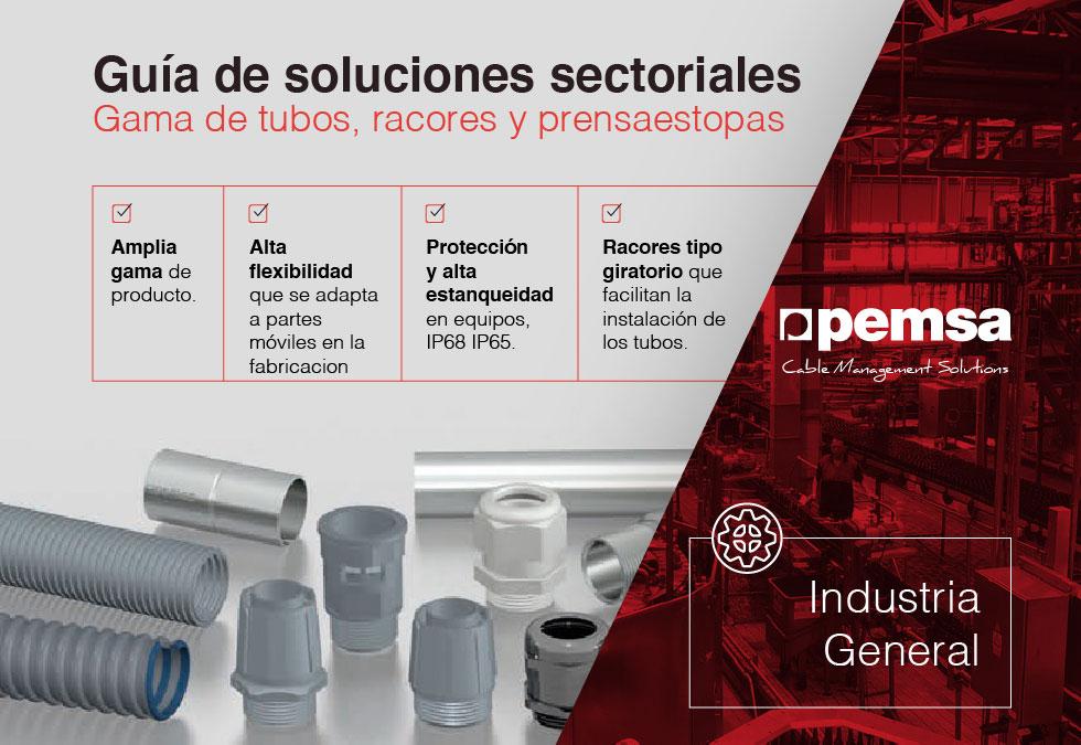 Pemsa ofrece una amplia gama de tubos para el sector industrial