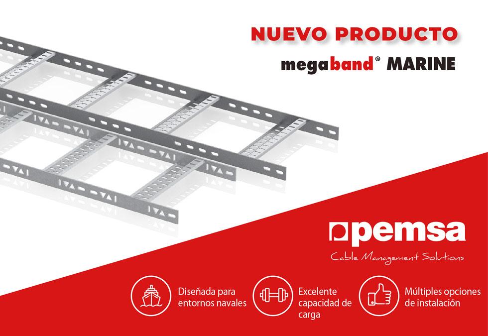 Pemsa lanza su Nueva Bandeja Megaband® Marine para aplicaciones navales y offshore