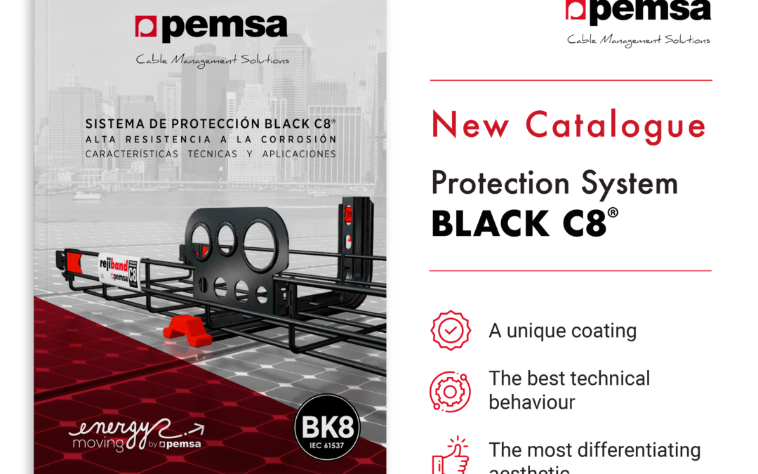 Pemsa launches its New Catalogue for the BLACK C8® Protection System