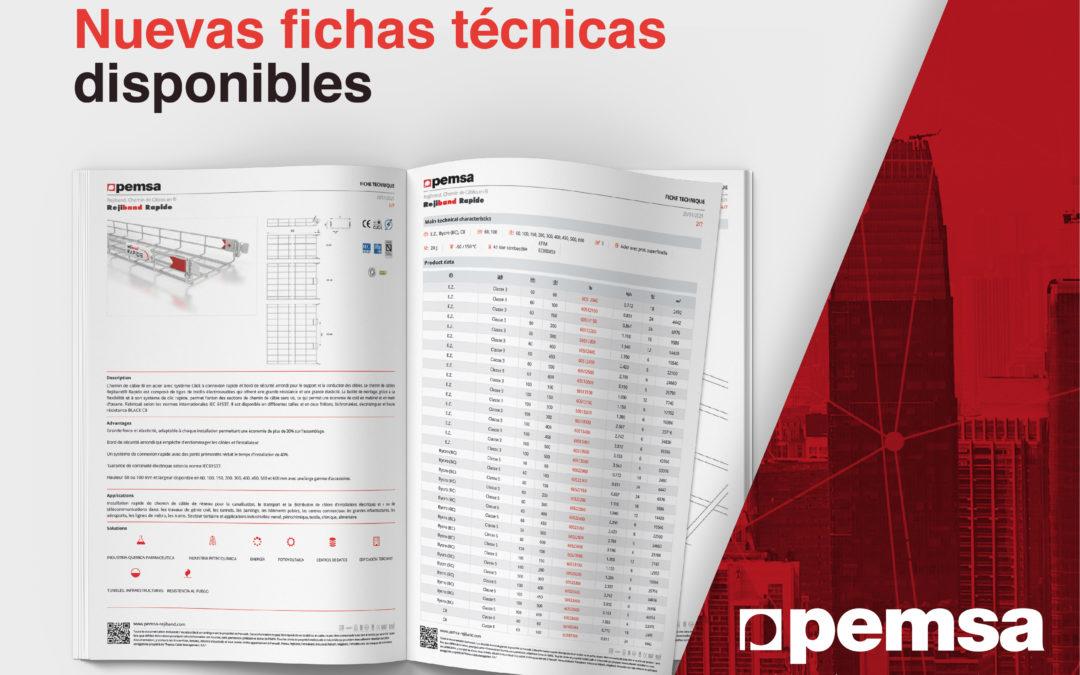 Ya disponibles las traducciones de fichas técnicas en el catálogo online