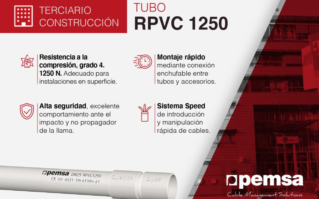Sistema de Tubo RPVC 1250 de Pemsa, la Solución para Edificación y Sector Terciario