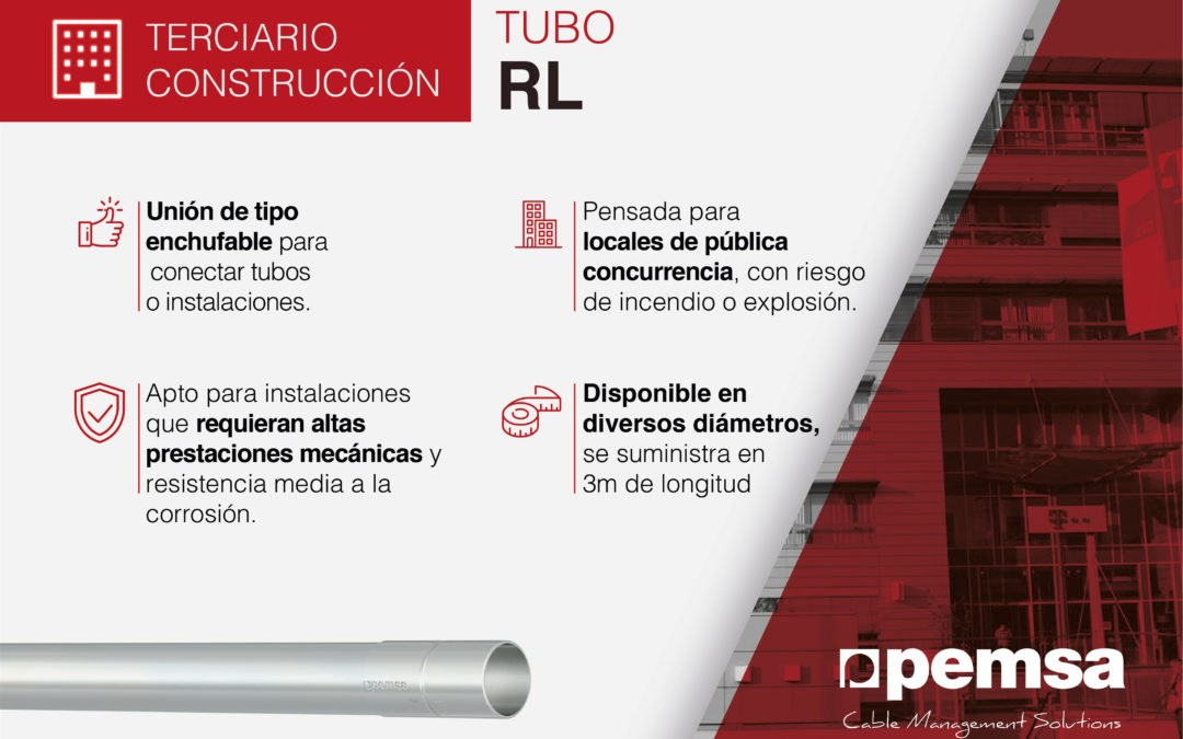 Sistema RL de Pemsa, la Solución con altas prestaciones mecánicas para Edificación y Sector Terciario.
